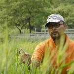 Ryoseok Hong at his natural farm in Yeoncheon, South Korea (Photo: P.M. Lydon / Final Straw)