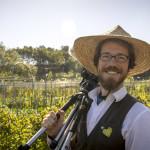 Director Patrick Lydon at Ryoseok Hong's natural farm in Yeoncheon, South Korea (Photo: Suhee Kang | Final Straw)
