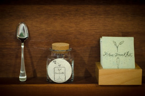 Free Food Kit Installation at N3 Art Lab, Yamaguchi, Japan