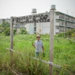 Kita Osamu at one of his natural farm plots in Tokushima city, Japan