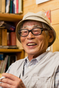 80-year old natural farmer, Kita Osamu