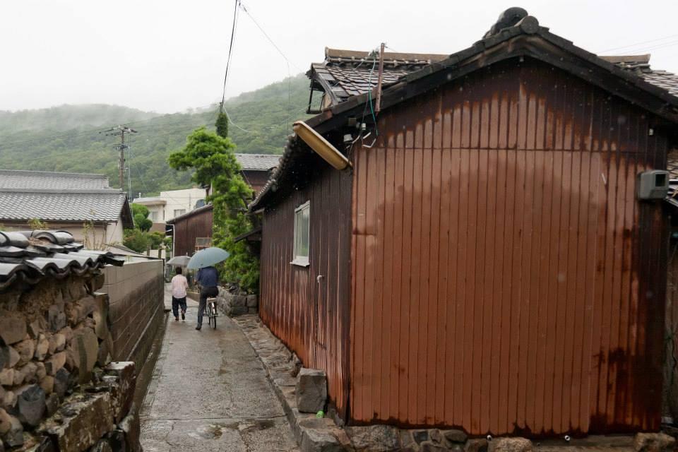 megijima in rain