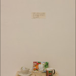 Free Food Kits for giveaway at the Final Straw exhibition, November 2013 at TENT Gallery, Edinburgh.