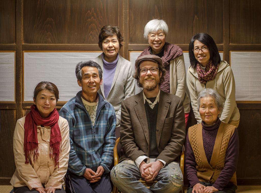 Interviewing Osamu Yoshino at his natural agriculture farm in Ch
