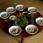 Lunch at Seonghyun Choi's natural farm in Hongcheon