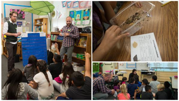 Final Straw soil investigation workshop at Castlemont Elementary School