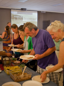 A locally sourced dinner and Final Straw screening hosted by North Yuba Grown