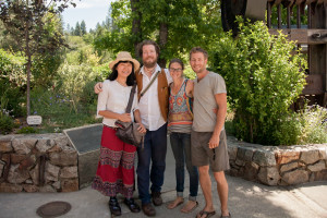 Final Straw Directors Suhee and Patrick with Cara and Aaron from North Yuba Grown.