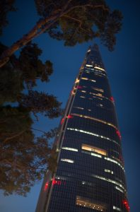 Lotte World Tower in Seoul, Korea / image: Patrick M. Lydon